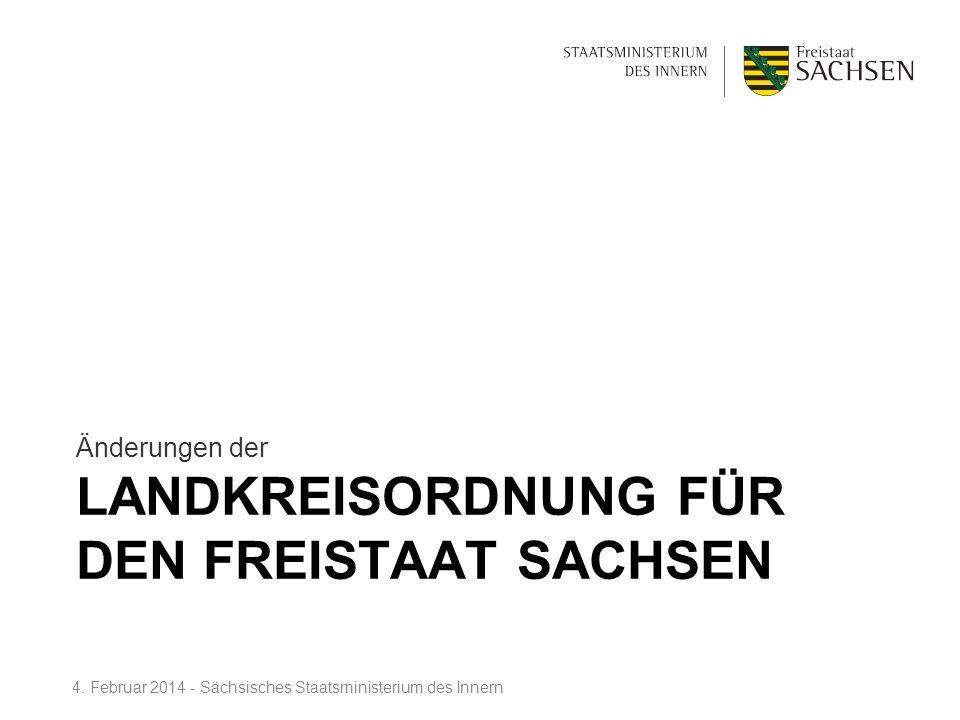 Landkreisordnung für den Freistaat Sachsen