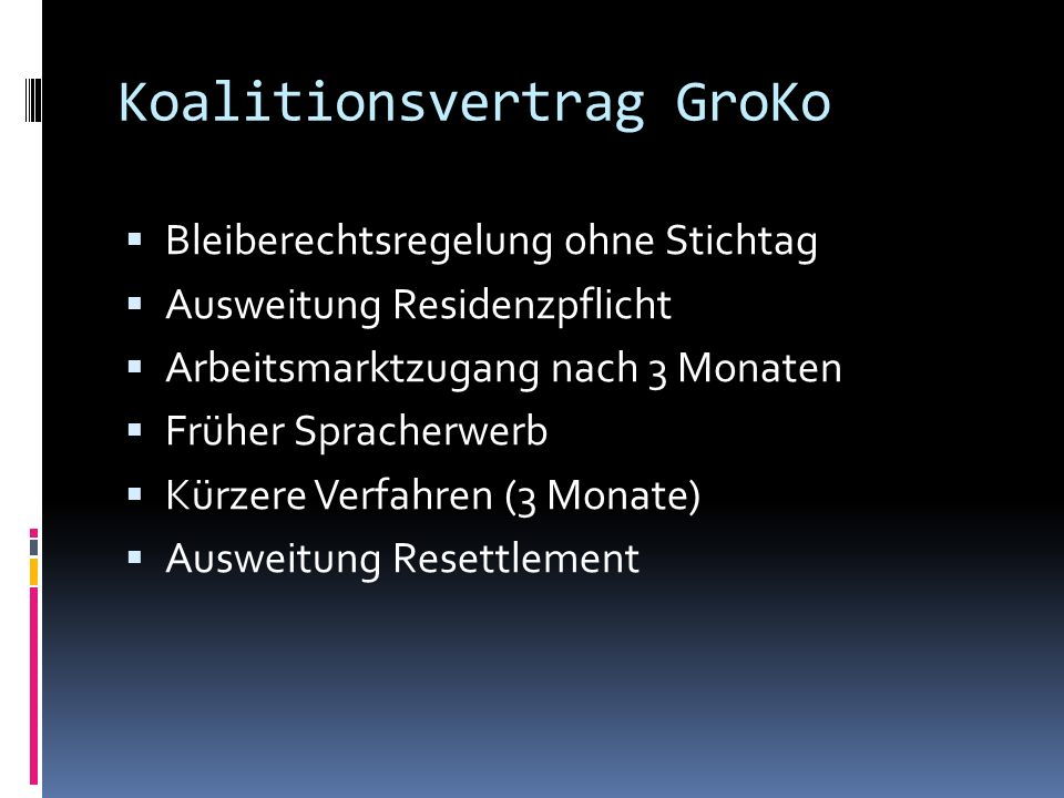 Koalitionsvertrag GroKo