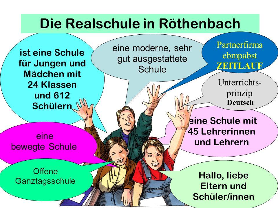 Die Realschule in Röthenbach