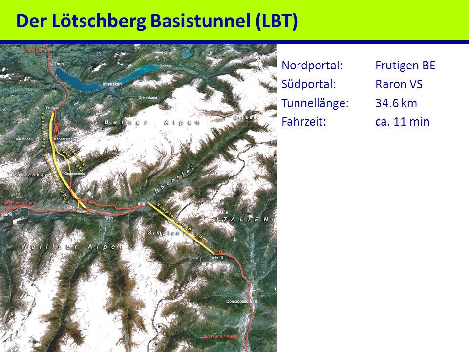 Der Lötschberg Basistunnel (LBT)