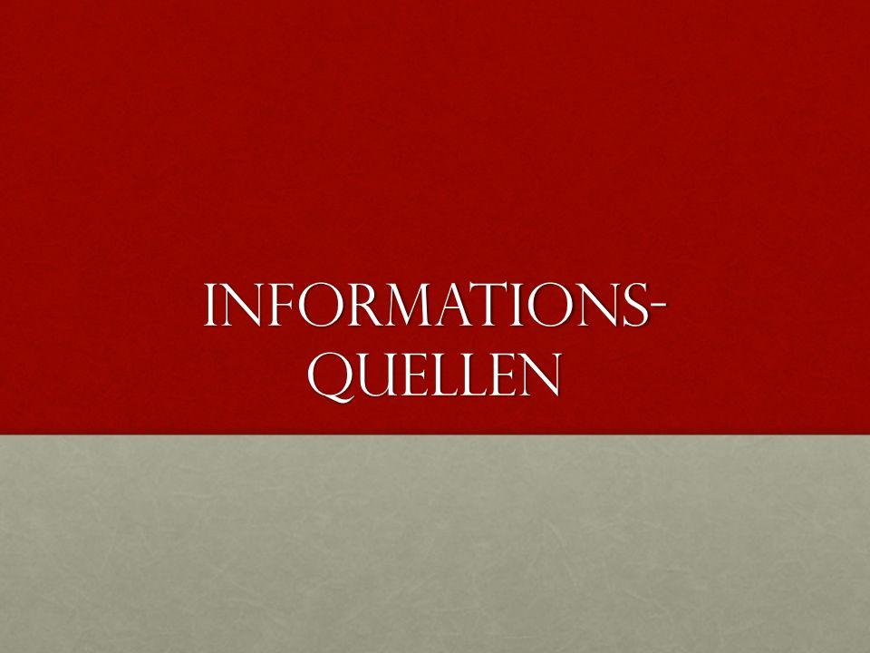 Informations-quellen