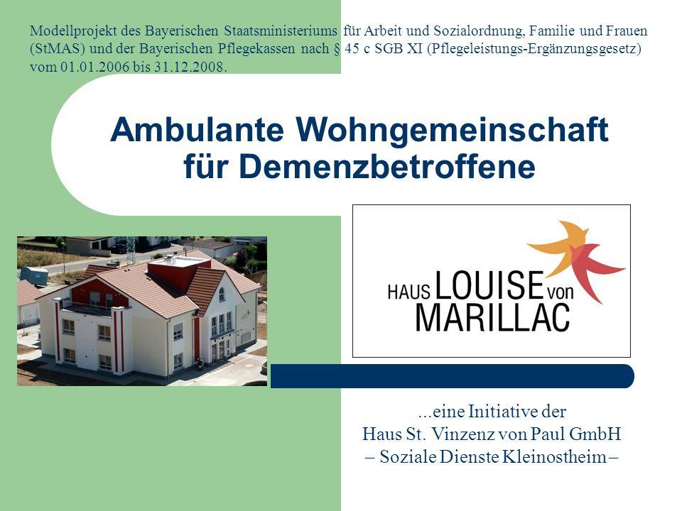 Ambulante Wohngemeinschaft für Demenzbetroffene