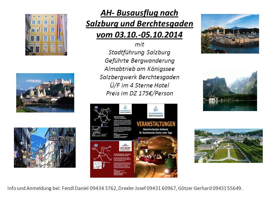 Salzburg und Berchtesgaden