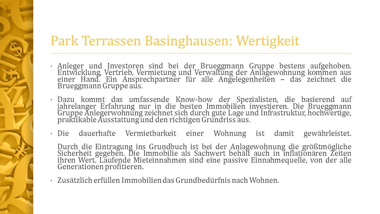 Park Terrassen Basinghausen: Wertigkeit