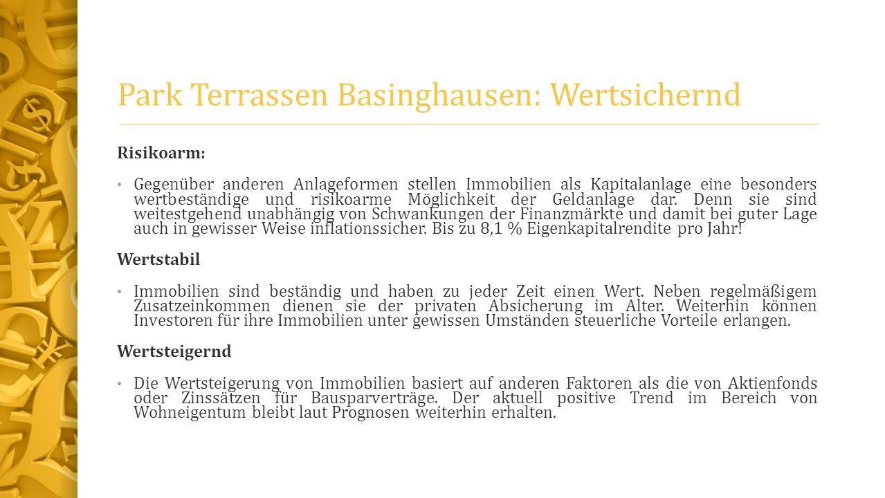 Park Terrassen Basinghausen: Wertsichernd
