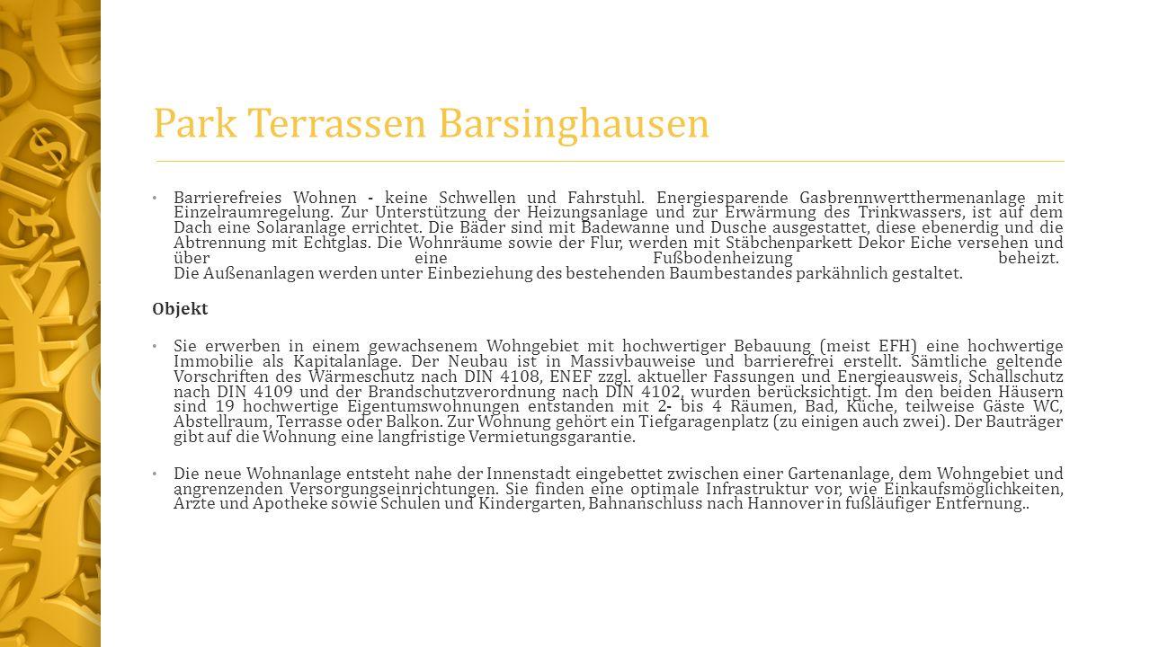 Park Terrassen Barsinghausen