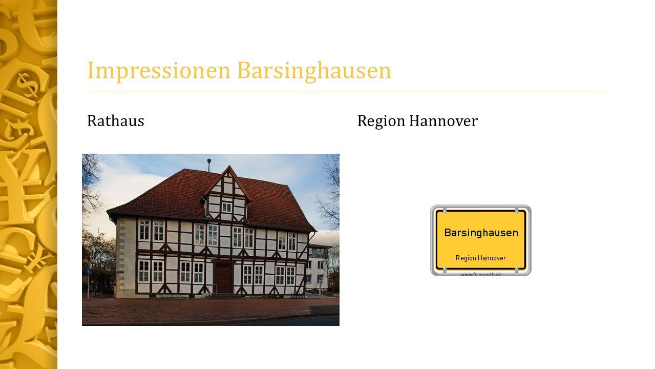 Impressionen Barsinghausen