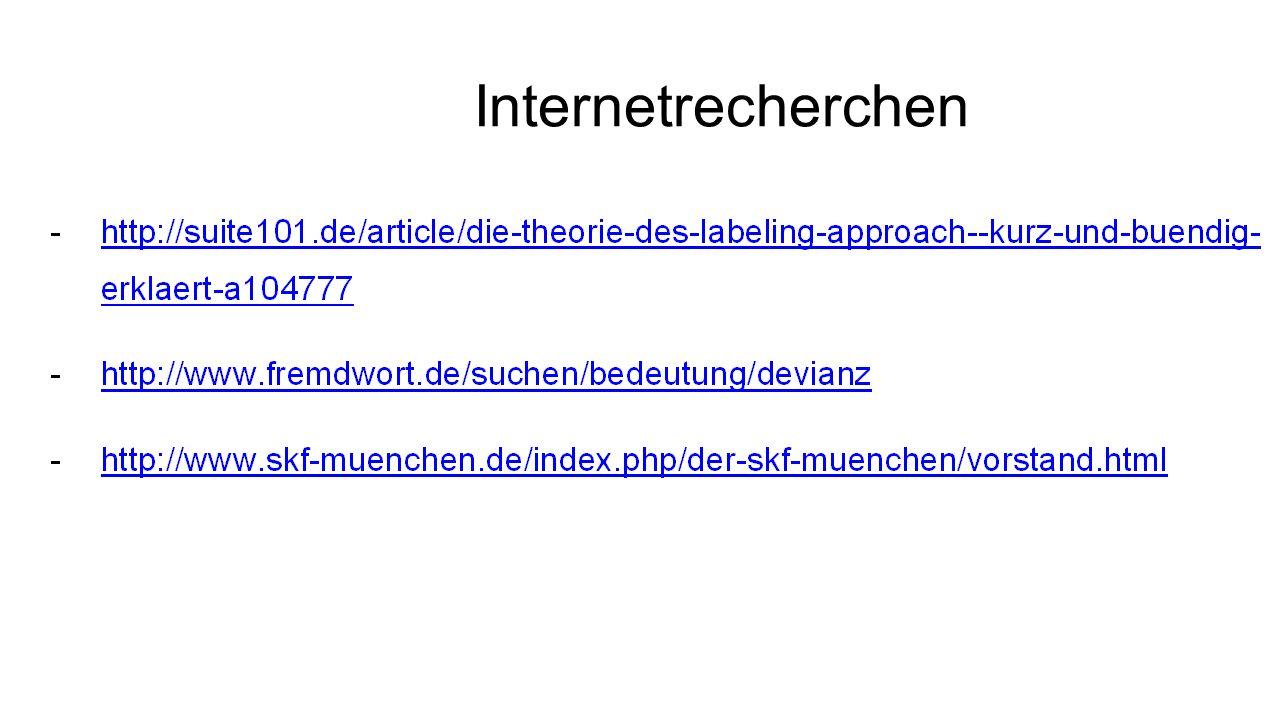 Internetrecherchen