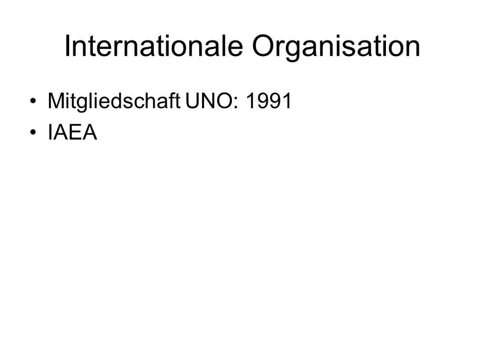 Internationale Organisation