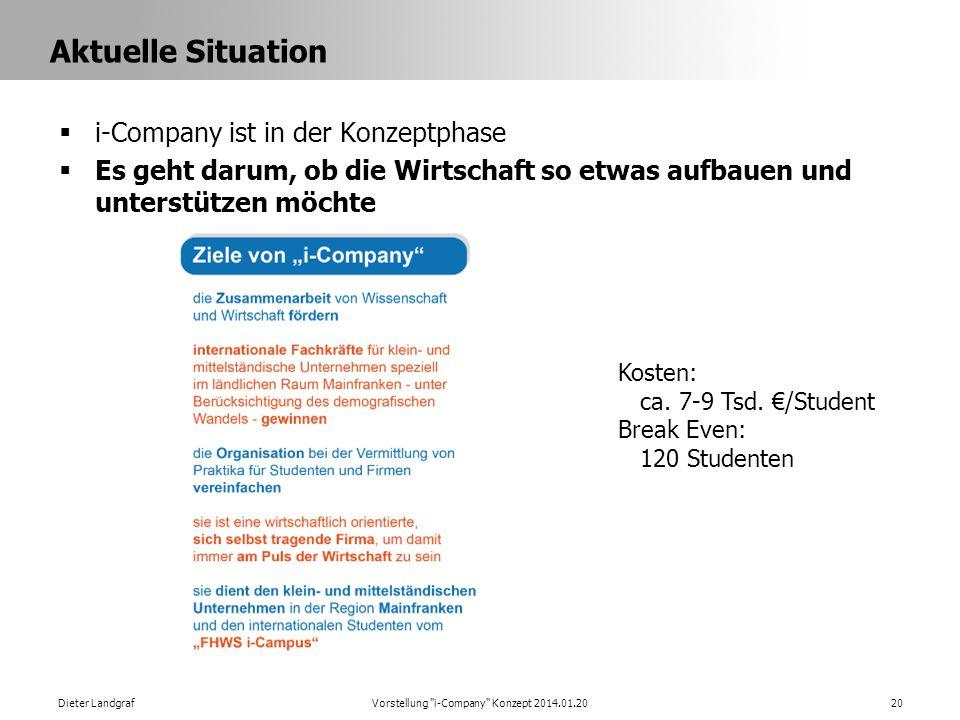 Vorstellung i-Company Konzept 2014.01.20