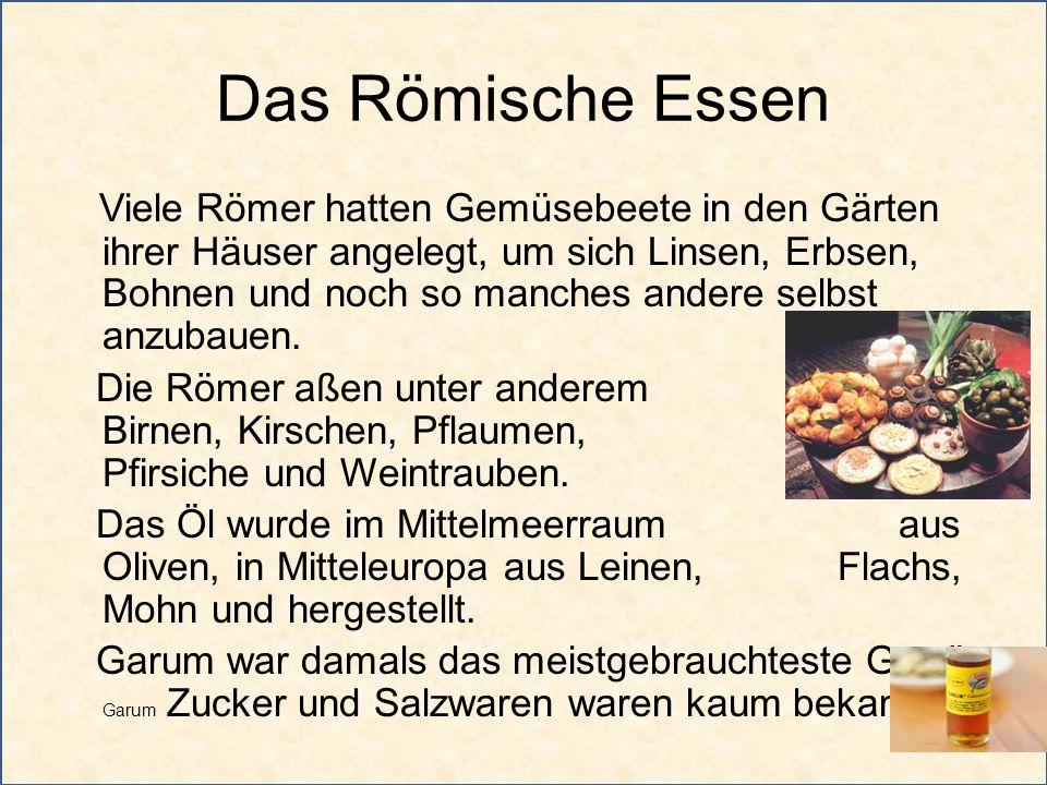 Das Römische Essen
