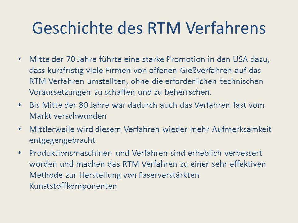Geschichte des RTM Verfahrens