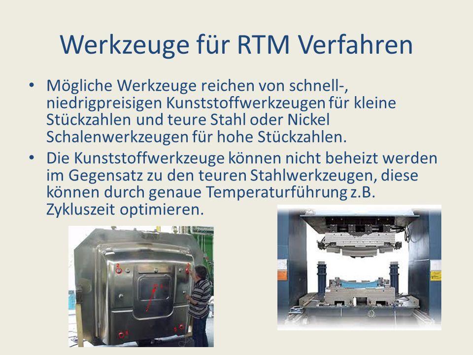 Werkzeuge für RTM Verfahren