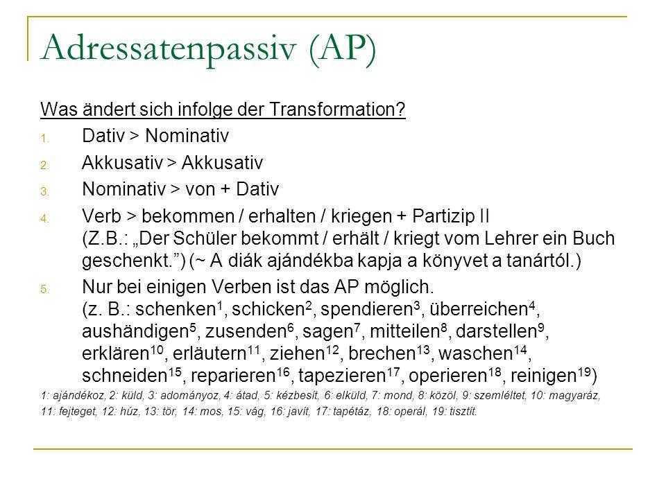 Adressatenpassiv (AP)