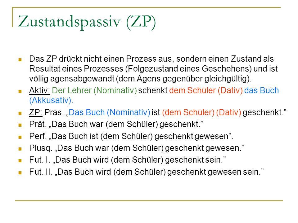 Zustandspassiv (ZP)