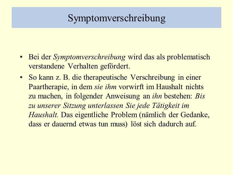 Symptomverschreibung