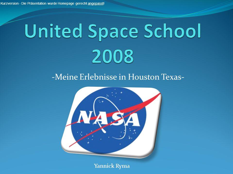 -Meine Erlebnisse in Houston Texas-