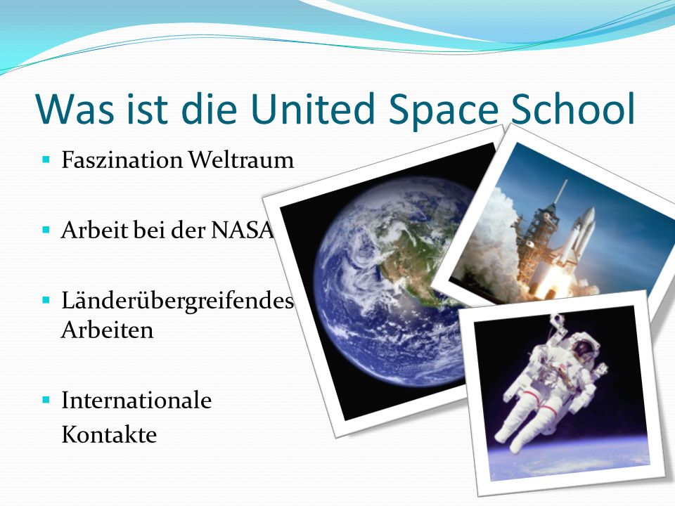 Was ist die United Space School