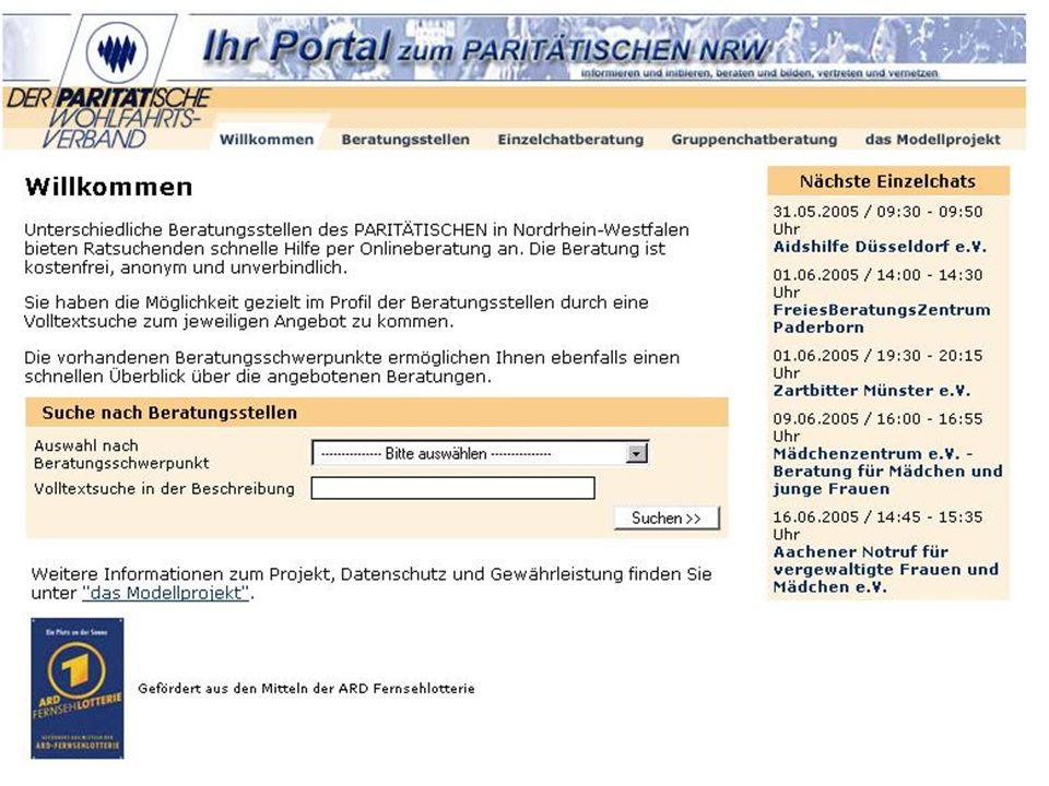 Pari Onlineberatungs-Portal