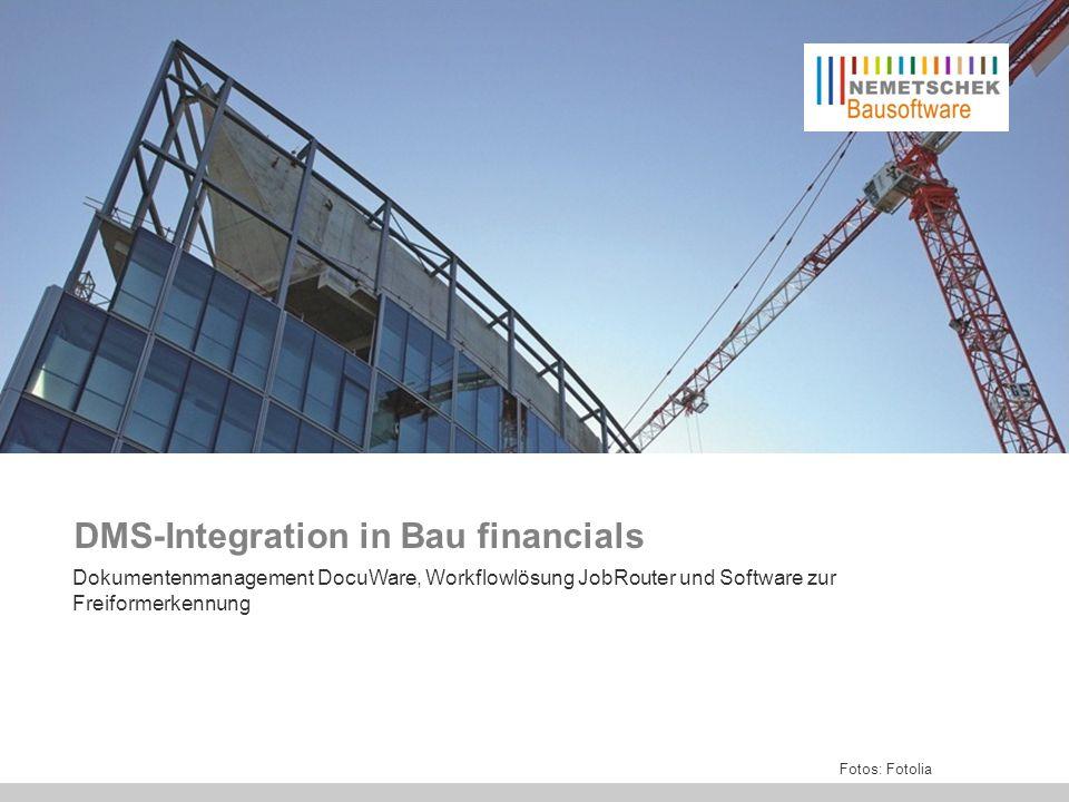 DW /JR–Integration Bf BK