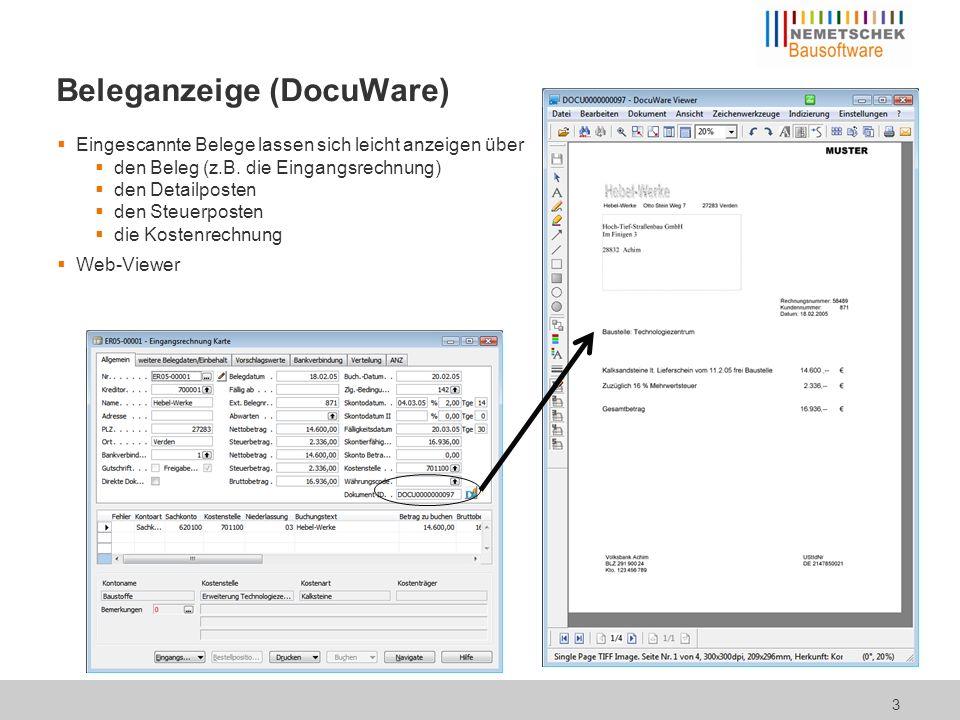 Archivrecherche (DocuWare)