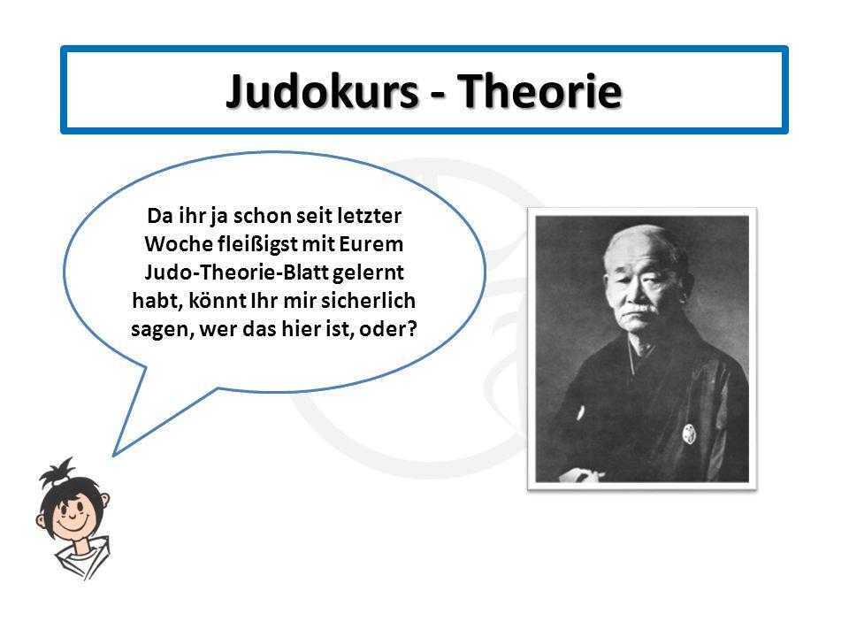 Judokurs - Theorie