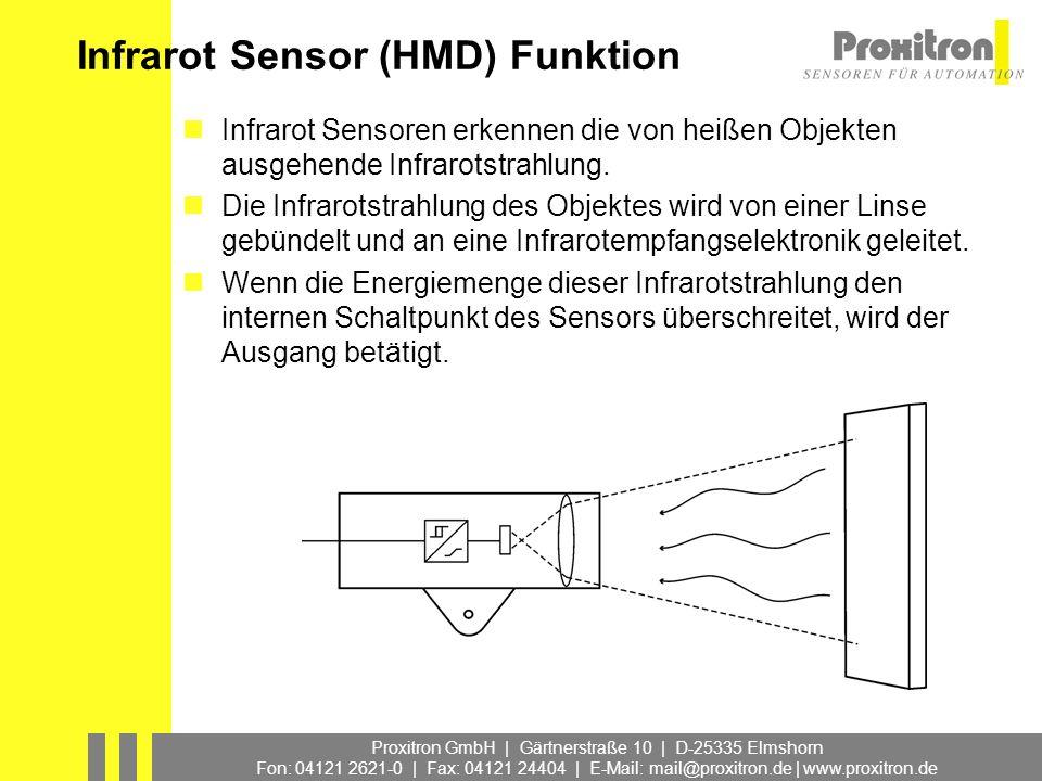 Infrarot Sensor (HMD) Funktion