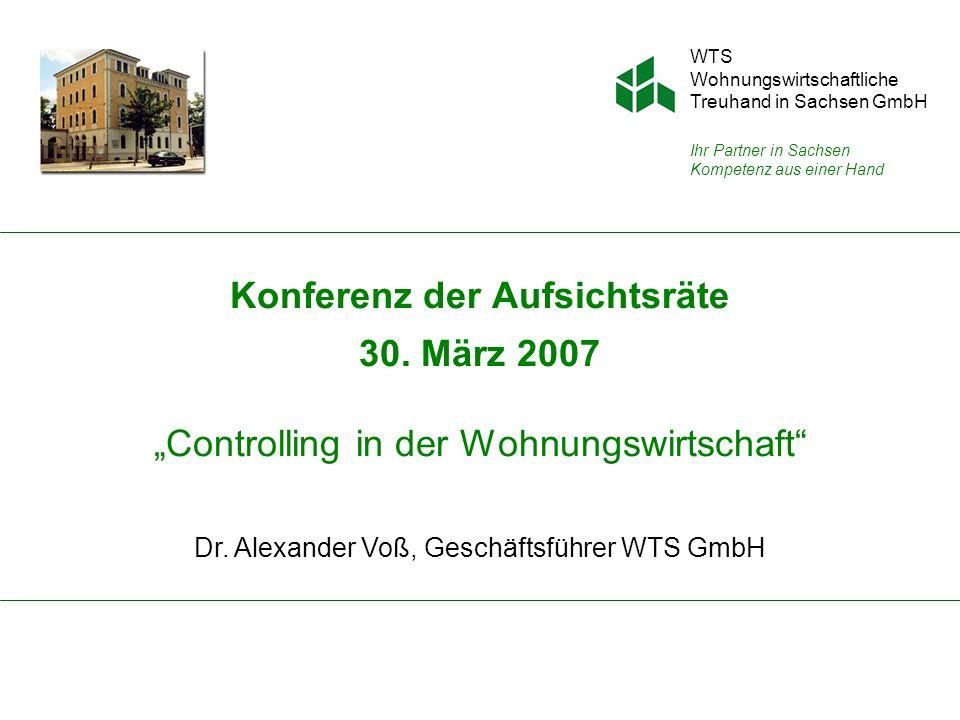 Dr. Alexander Voß, Geschäftsführer WTS GmbH
