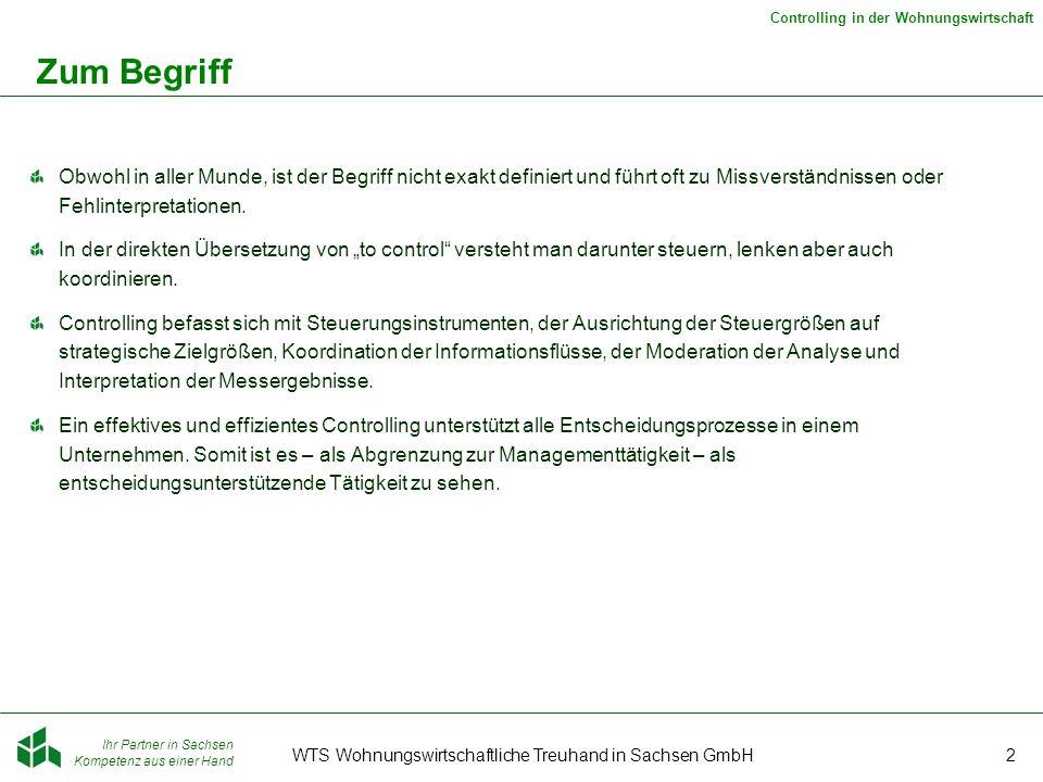 WTS Wohnungswirtschaftliche Treuhand in Sachsen GmbH