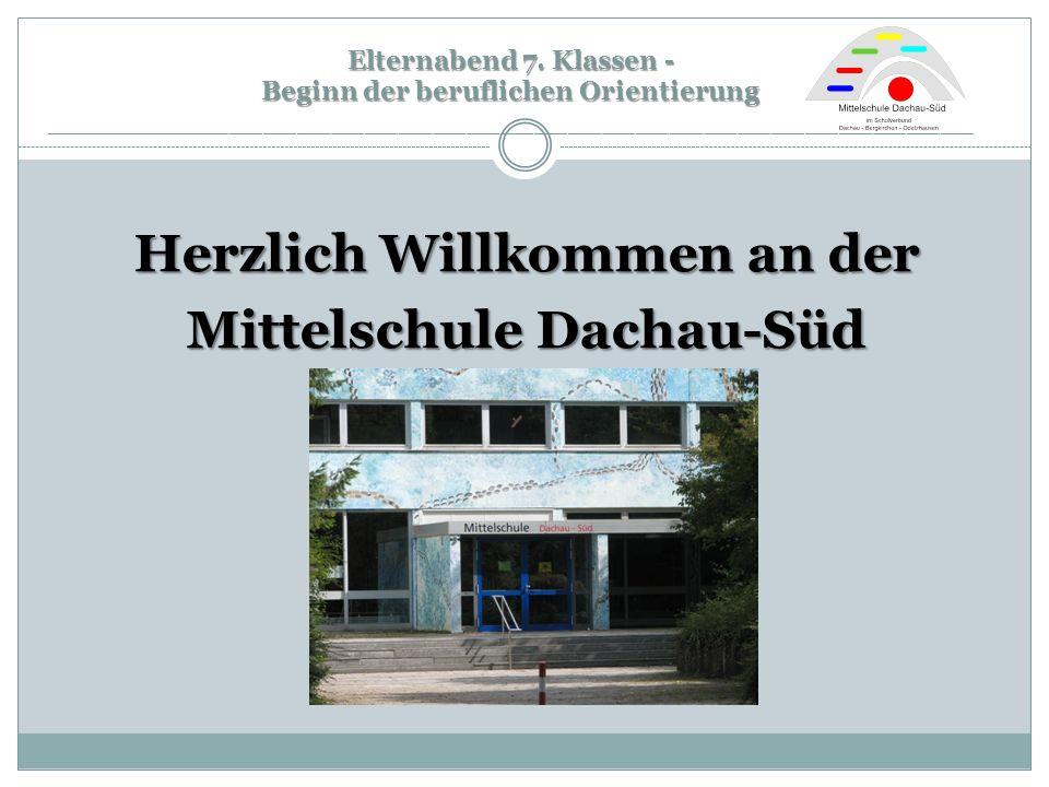 Herzlich Willkommen an der Mittelschule Dachau-Süd