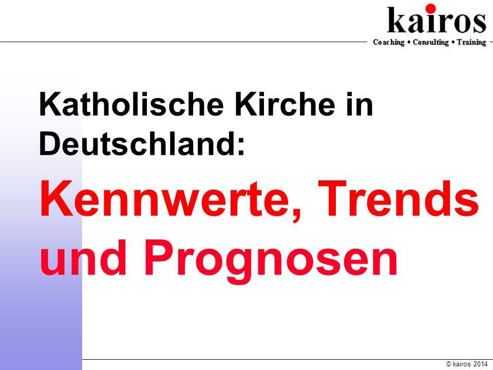 Katholische Kirche in Deutschland: Kennwerte, Trends und Prognosen