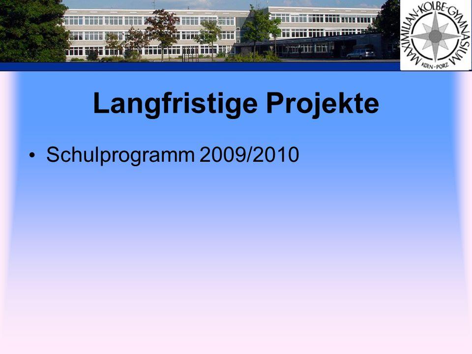 Langfristige Projekte