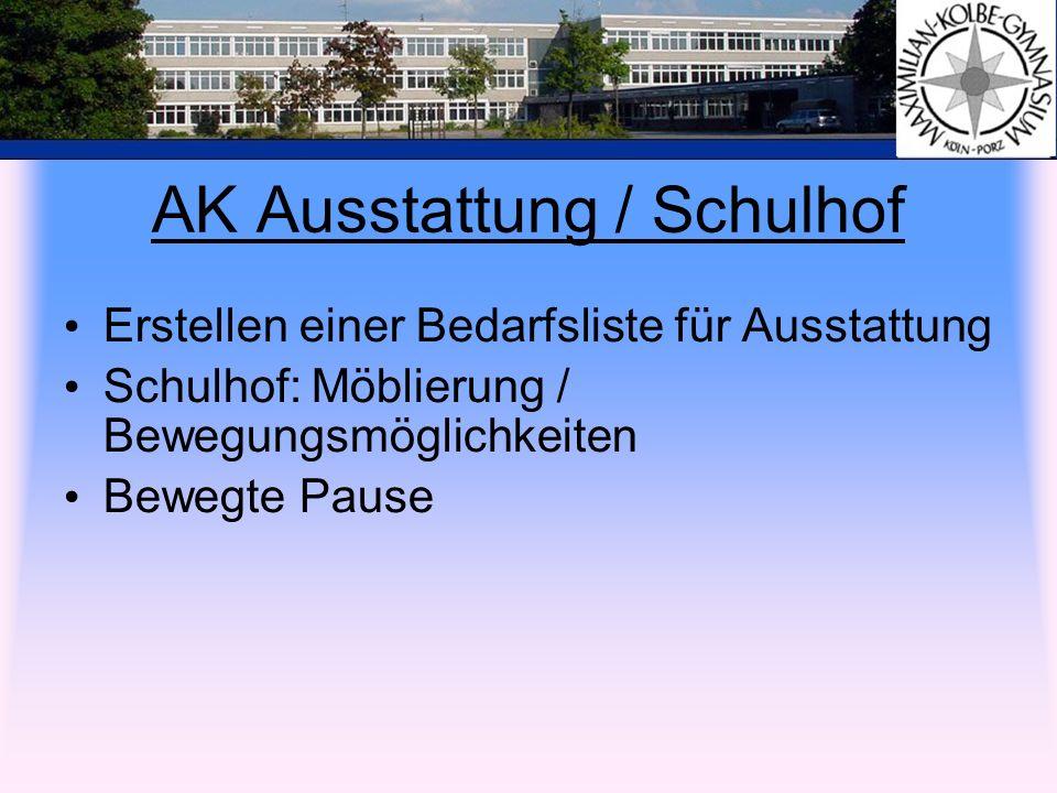 AK Ausstattung / Schulhof