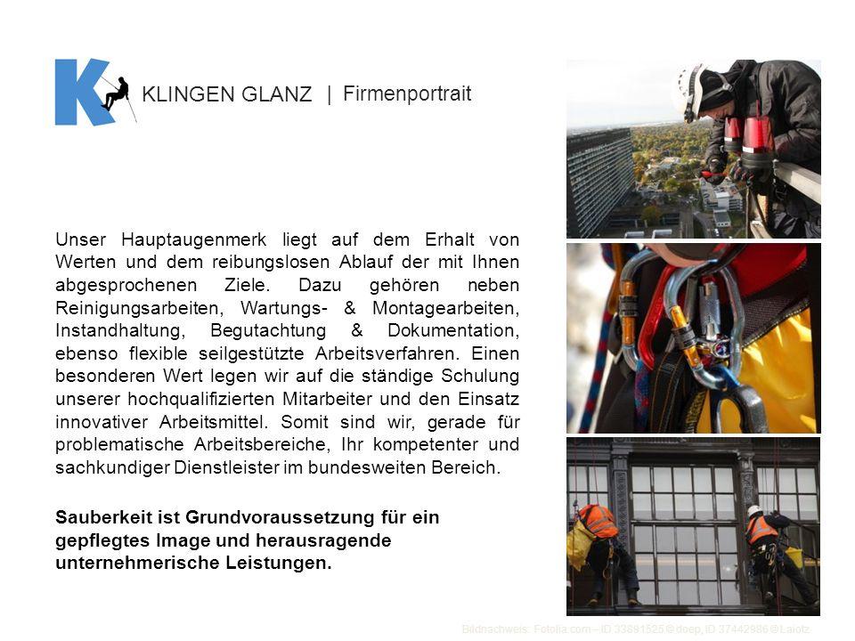 KLINGEN GLANZ | Firmenportrait