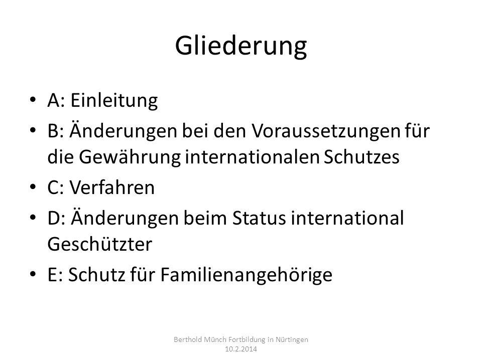 Berthold Münch Fortbildung in Nürtingen 10.2.2014