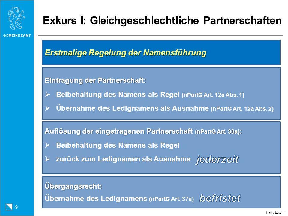 Exkurs II: Bürgerrecht