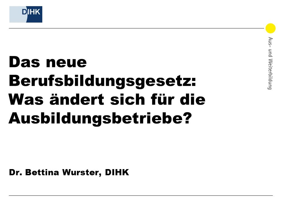 Dr. Bettina Wurster, DIHK
