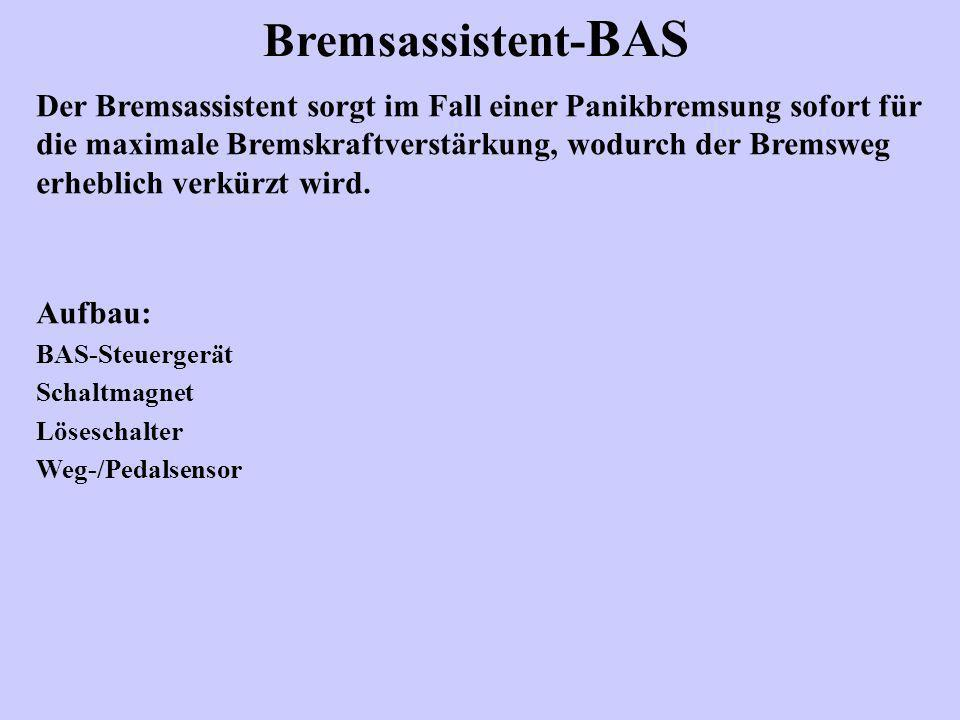 Bremsassistent-BAS