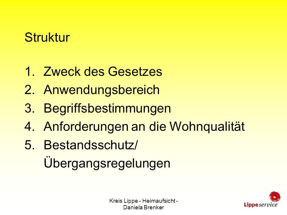 Kreis Lippe - Heimaufsicht - Daniela Brenker