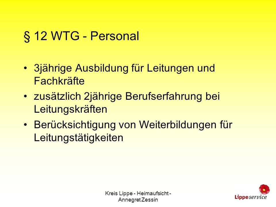 Kreis Lippe - Heimaufsicht - Annegret Zessin