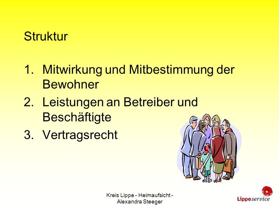 Kreis Lippe - Heimaufsicht - Alexandra Steeger
