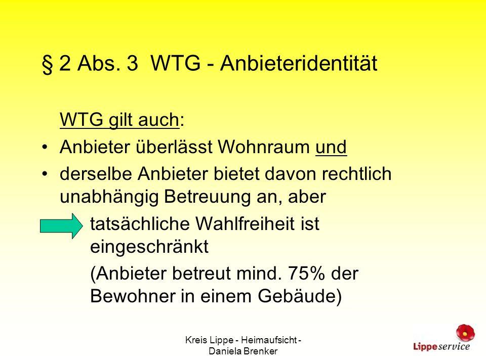 § 2 Abs. 3 WTG - Anbieteridentität