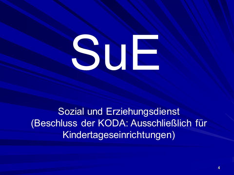 SuE Sozial und Erziehungsdienst