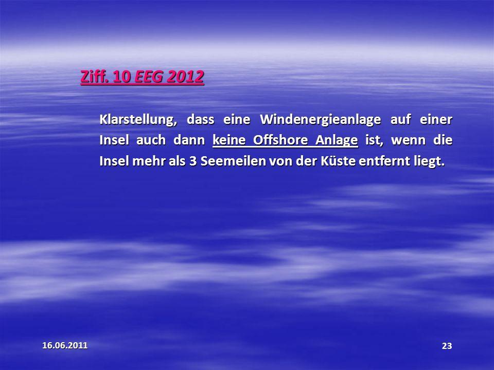 Ziff. 10 EEG 2012