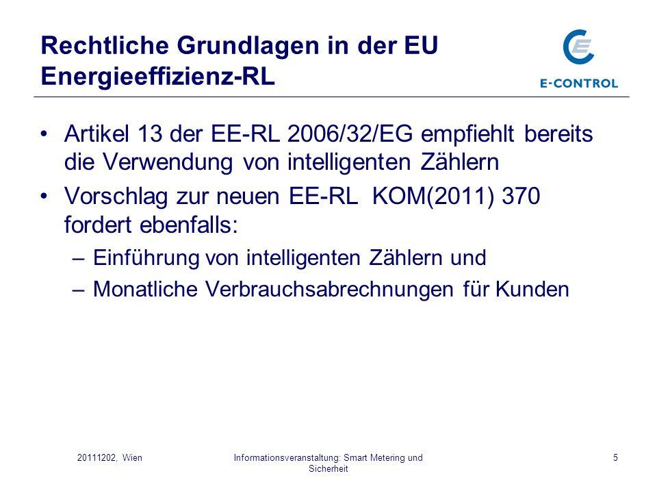 Rechtliche Grundlagen in der EU Energieeffizienz-RL