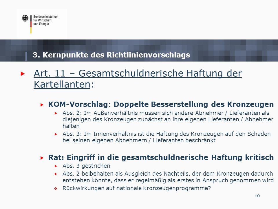 3. Kernpunkte des Richtlinienvorschlags