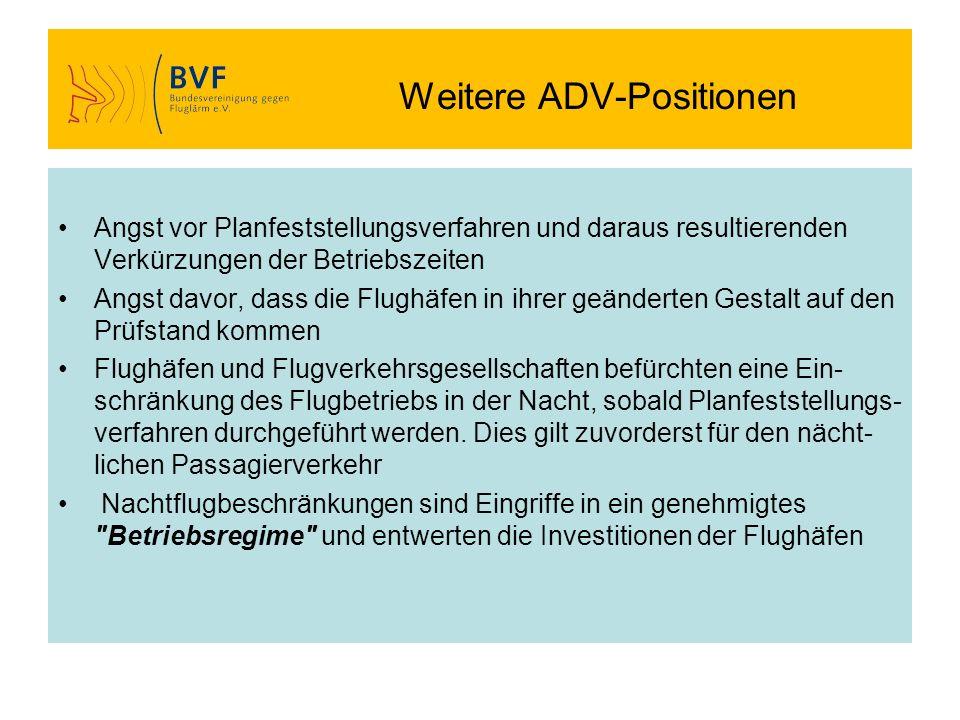 Weitere ADV-Positionen