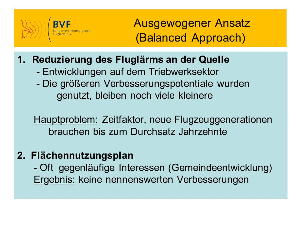 Ausgewogener Ansatz (Balanced Approach)