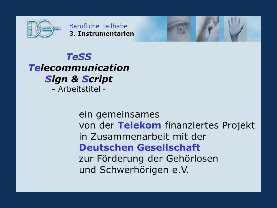 Telecommunication Sign & Script