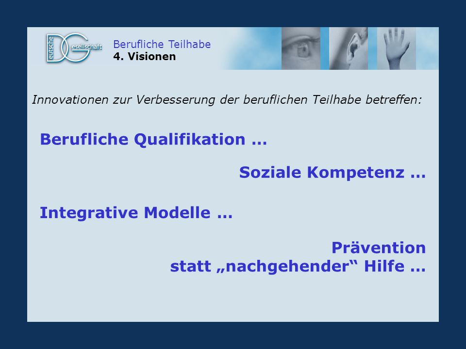 Berufliche Qualifikation …
